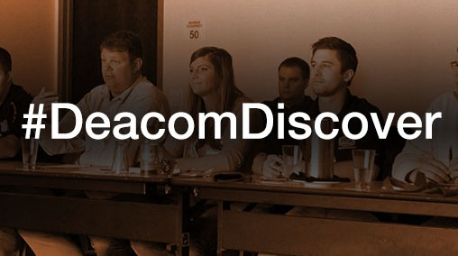 The Deacom Discover 2016 User Conference registration is now open!