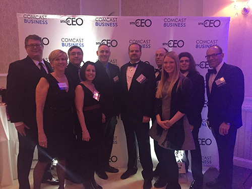 The Deacom Team at the SmartCEO Gala