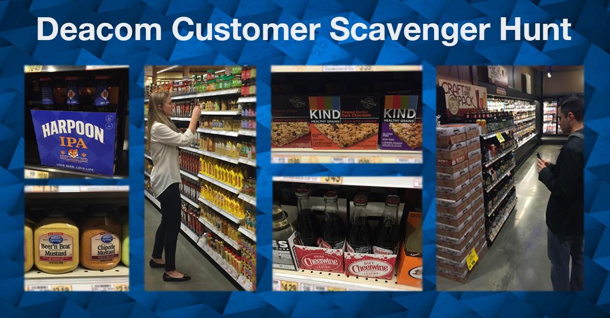 Deacom Team Embarks on Customer Scavenger Hunt