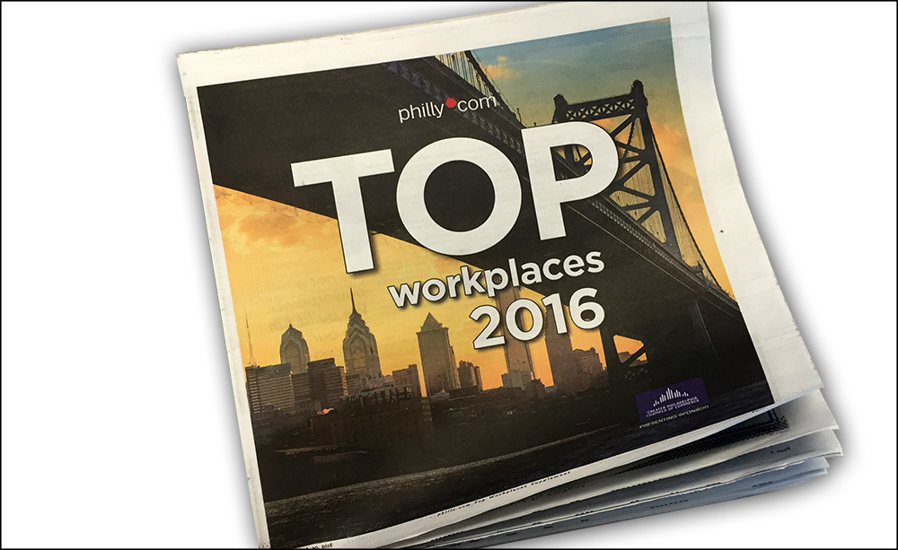 Here are the 5 reasons why Deacom earned Philly.com Top Workplaces two years running