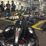 Go-karting at Deacom Discover