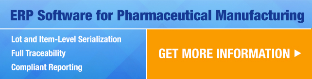ERP Software for Pharmaceutical Manufacturing - Deacom