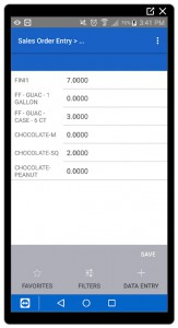 Deacom Mobile App - Sales Order Template