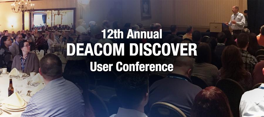 DEACOM DISCOVER 2017 Details Revealed!