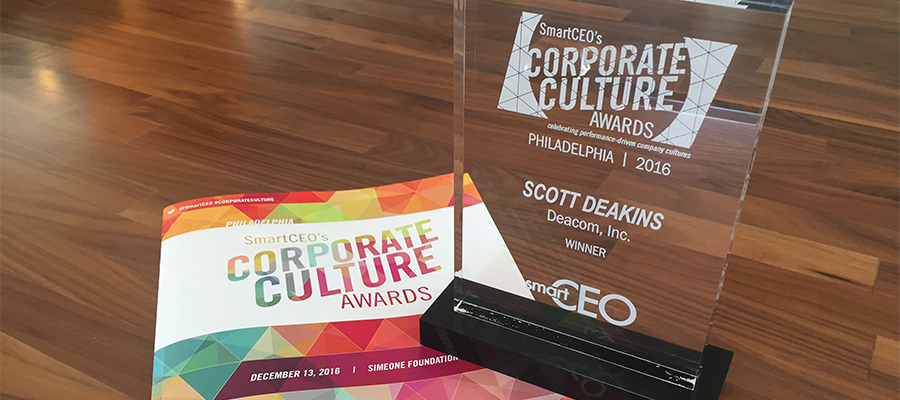 Deacom Corporate Culture Award