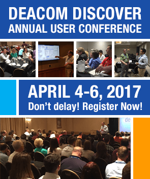 2017 Deacom User Conference - Register Now!