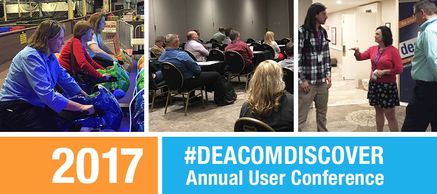 Why we are looking forward to DEACOM DISCOVER