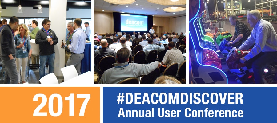 DEACOM DISCOVER 2017 User conference
