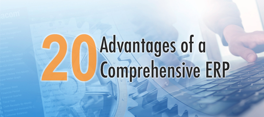 20 Comprehensive ERP Advantages Header