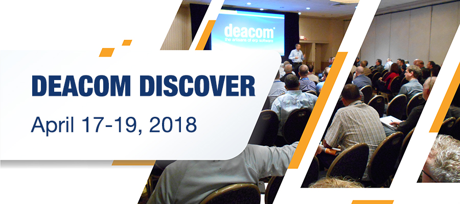 Deacom Discover User Conference 2018