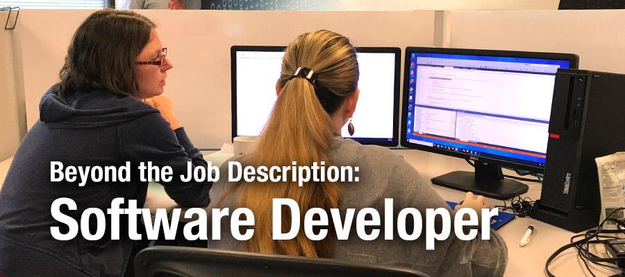 Beyond the Job Description: Software Developer