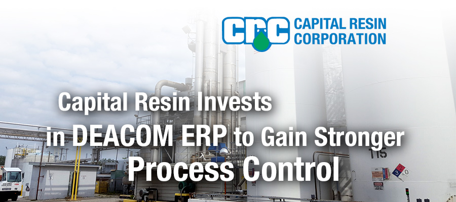Capital Resin Selects DEACOM ERP