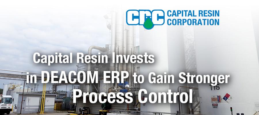 Capital Resin Selects DEACOM ERP