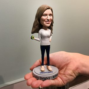 Julia Quigley Bobble Head