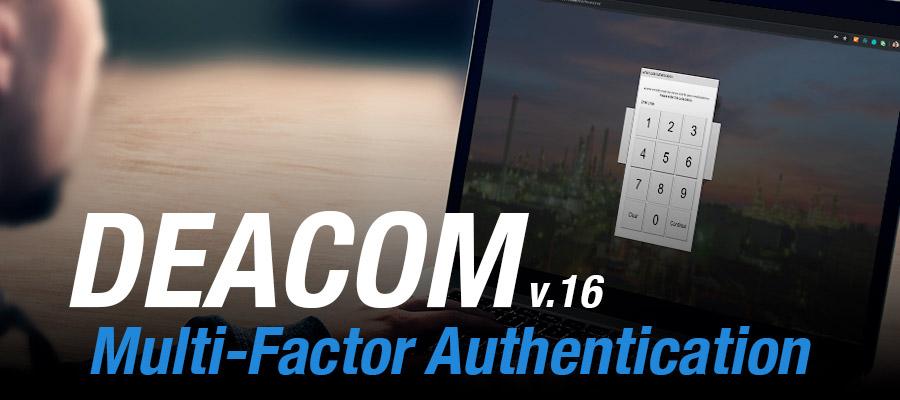 Multi Factor Authentication in DEACOM ERP