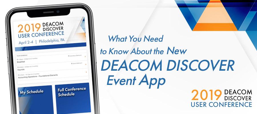 DEACOM Discover Event App