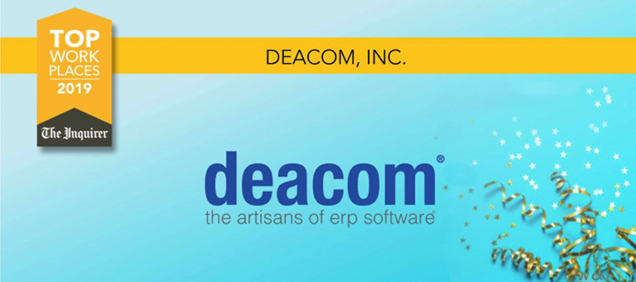 Deacom Takes Home Philly.com Top Workplace Award for Another Year in a Row